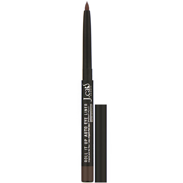 J.Cat Beauty, Roll It Up, Auto Eye Liner, RAE107 Brown, 0.01 oz (0.3 g)