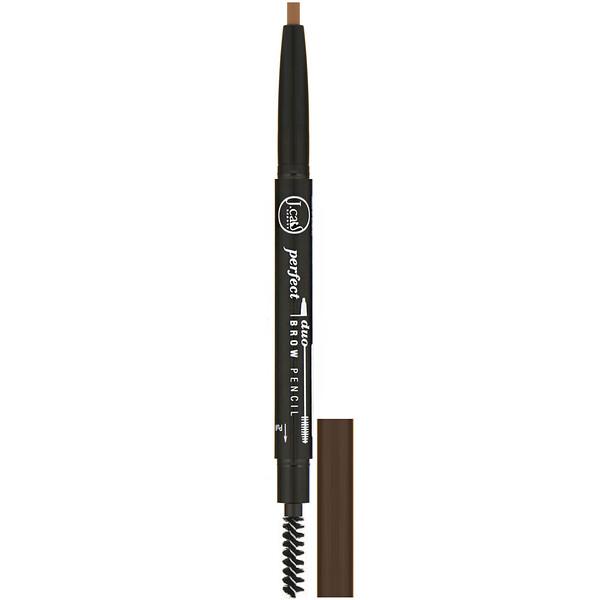 J.Cat Beauty, Perfect Duo Brow Pencil, BDP104 Auburn, 0.009 oz (0.25 g)
