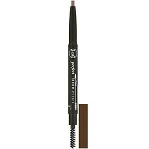 J.Cat Beauty, Perfect Duo Brow Pencil, BDP108 Light Brown, 0.009 oz (0.25 g) отзывы покупателей