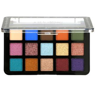 J.Cat Beauty, Dia & Noche, Tri-Element 15 Eyeshadow Palette, DNP101 Dia, 0.56 oz (16 g)