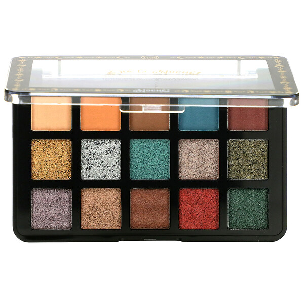 Dia & Noche, Tri-Element 15 Eyeshadow Palette, DNP102 Noche, 0.56 oz (16 g)