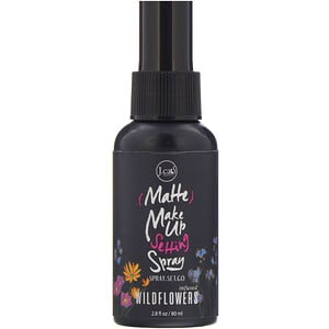 J.Cat Beauty, Matte Make Up Setting Spray, SS101 Wildflowers, 2.8 fl oz (80 ml) отзывы покупателей