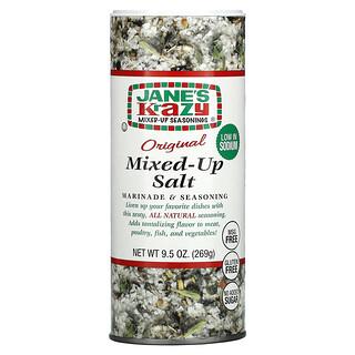 Jane's Krazy, Marinade & Seasoning, Original Mixed-Up Salt, 9.5 oz (269 g)