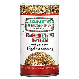Jane's Krazy, Everything Krazy Not Just for Bagel Seasoning, 2.75 oz, (78 g)