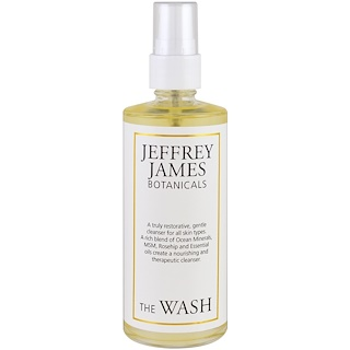 Jeffrey James Botanicals, The Wash, Gentle Purifying Cleanse , 4.0 oz (118 ml)