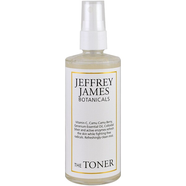 Jeffrey James Botanicals, El tónico, Rocío limpio refrescante, 4.0 oz (118 ml)