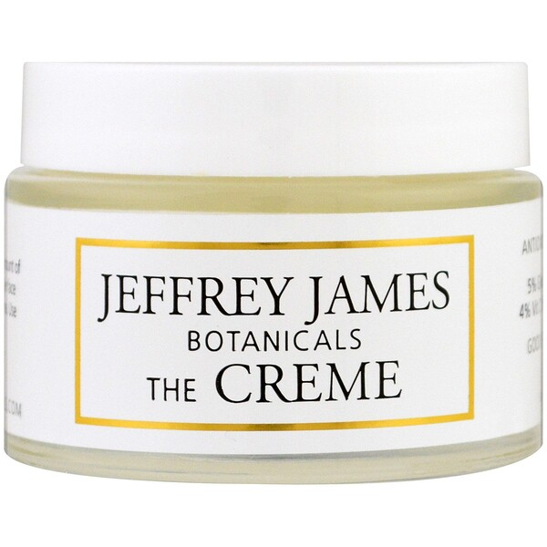 Jeffrey James Botanicals, 더 크렘, 온 종일 & 온 밤, 2.0 oz (59 ml)