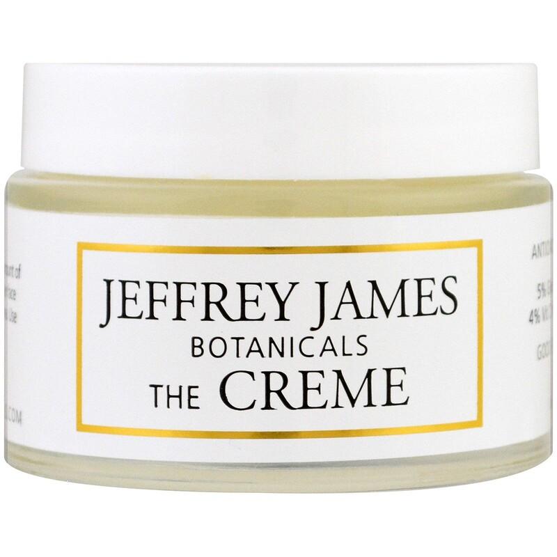 Jeffrey James Botanicals, Кремът, цял ден и цяла нощ, 2,0 унции (59 мл)