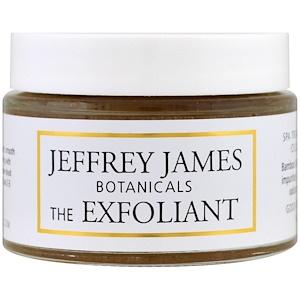 Jeffrey James Botanicals, Отшелушивающий скраб для сияния кожи, 2.0 унции (59 мл) инструкция, применение, состав, противопоказания