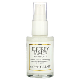 Jeffrey James Botanicals, The Eye Cream, Brighten Lighten Refresh, 1.0 oz (29 ml)