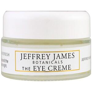 Джеффри Джеймс Ботаникалс, The Eye Cream, Brighten Lighten Refresh, 0.5 oz (15 ml) отзывы покупателей