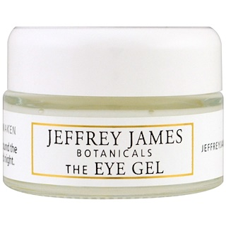 Jeffrey James Botanicals, The Eye Gel, Soothe Renew Awaken, 0.5 oz (15 ml)