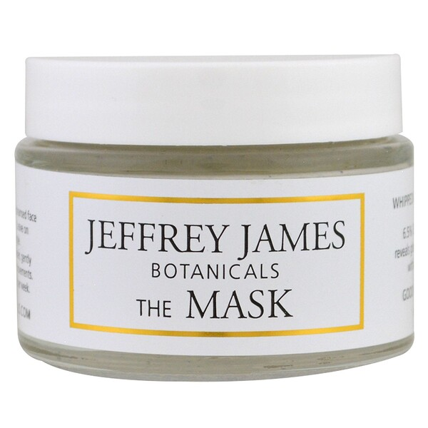 Jeffrey James Botanicals, « Le masque », masque de boue fouettée à la framboise, 59 ml (2,0 oz)