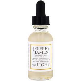 Jeffrey James Botanicals, O Soro Suave C Desafiador da Idade, 1.0 oz (29 ml)