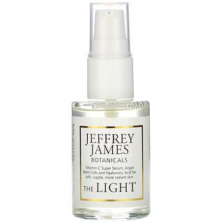 Jeffrey James Botanicals, مصل The Light المضاد لعلامات التقدم في السن بخلاصة فيتامين (جـ) 1.0 أونصة (29 مل)