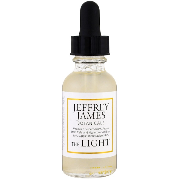Jeffrey James Botanicals, Le sérum allégé anti-âge à la vitamine C, 1,0 oz (29 ml)