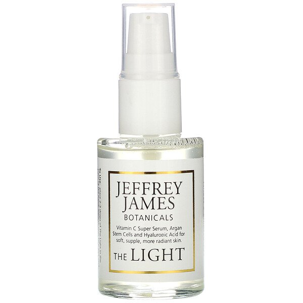 Jeffrey James Botanicals, Soro C Desafiador da Idade, A Luz, 29 ml (1,0 oz)