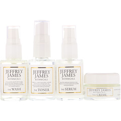 Jeffrey James Botanicals, Deluxe Travel Set, 4 Piece Set