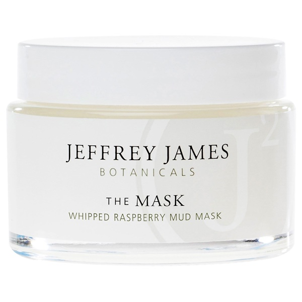 Jeffrey James Botanicals, The Mask, Whipped Raspberry Mud Mask, 2.0 oz (59 ml) (Discontinued Item)