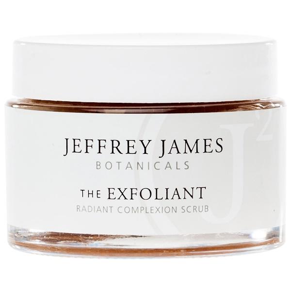 Jeffrey James Botanicals, The Exfoliant, Radiant Complexion Scrub, 2.0 oz (59 ml) (Discontinued Item)