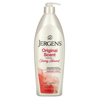 Jergens, Original Scent Dry Skin Moisturizer, Cherry Almond, 21 fl oz (621 ml)