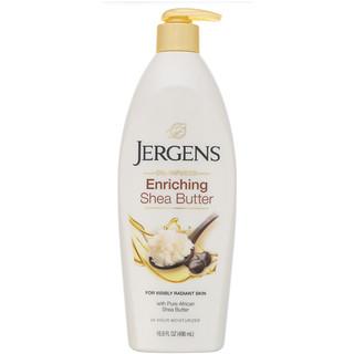 Jergens, Enriching Shea Butter Moisturizer, Oil-Infused, 16.8 fl oz (496 ml)