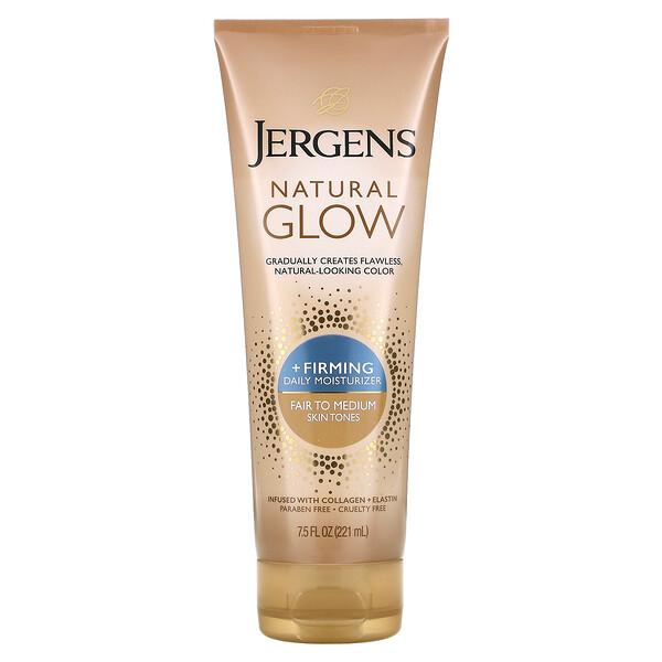 Natural Glow, Firming Daily Moisturizer, Fair to Medium,  7.5 fl oz (221 ml)