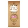 Jergens, Natural Glow, Crema humectante diaria para el rostro, FPS20, Claro a medio, 59ml (2oz.líq.)
