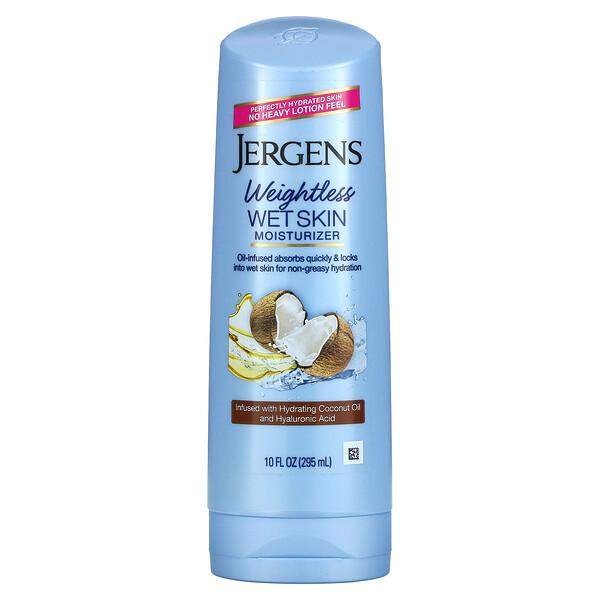 Weightless Wet Skin Moisturizer, Coconut Oil, 10 fl oz (295 ml)