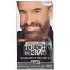 Just for Men, Touch of Gray, Mustache & Beard, Dark Brown & Black B-45/55, 1 Multiple Application Kit