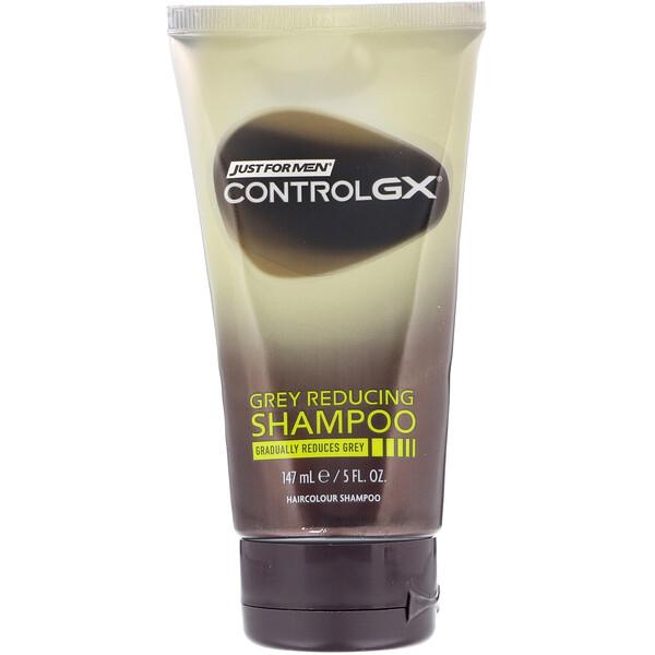 Just for Men, Control GX, Grey Reducing Shampoo, 5 fl oz (147 ml) (Discontinued Item)
