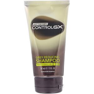 Just for Men, Control GX, Grey Reducing Shampoo, 5 fl oz (147 ml) отзывы