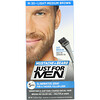 Just for Men, Mustache & Beard, Brush-In Color Gel, Light-Medium Brown M-30, 2 x 0.5 oz (14 g)