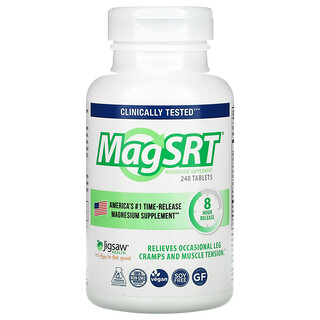 Jigsaw Health, MagSRT, Time-Release Magnesium, 240 Tablets