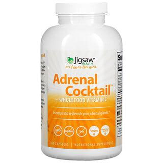 Jigsaw Health, Adrenal Cocktail + Wholefood Vitamin C, 360 Capsules