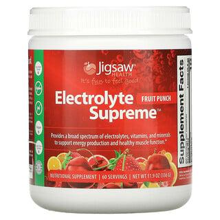 Jigsaw Health, Electrolyte Supreme, Fruit Punch, 11.9 oz (336 g)