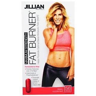Jillian Michaels, Fat Burner, Maximum Strength, 56 Capsules