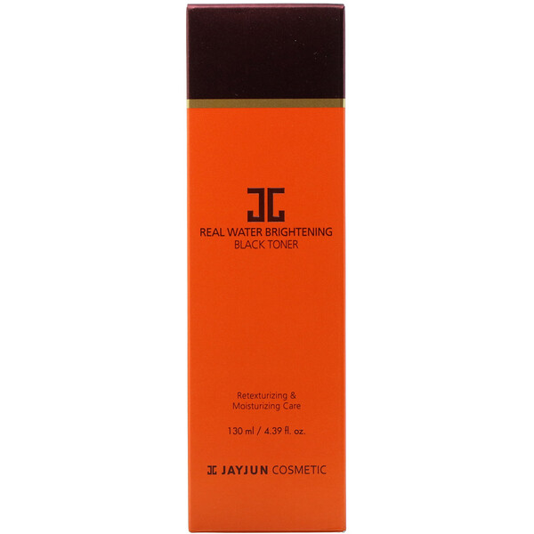 Jayjun Cosmetic, Real Water Brightening Black Toner, 4.39 fl oz (130 ml)