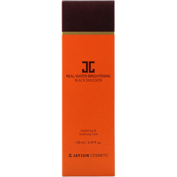 Jayjun Cosmetic, Real Water Brightening Black Emulsion, 4.39 fl oz (130 ml)