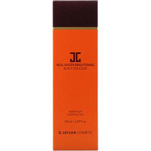 Jayjun Cosmetic, Real Water Brightening Black Emulsion, 4.39 fl oz (130 ml) отзывы