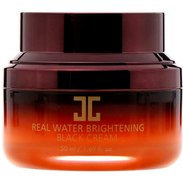 Jayjun Cosmetic, Real Water Brightening Black Cream, 1.69 fl oz (50 ml) (Discontinued Item)