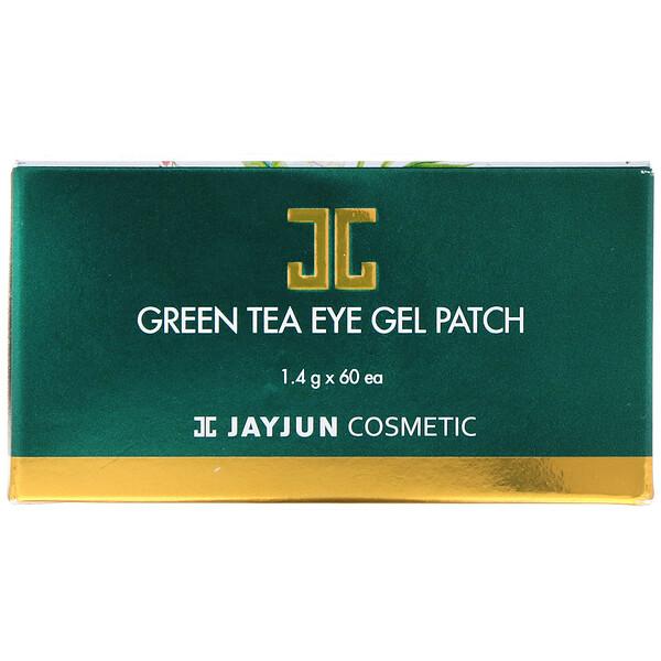 Jayjun Cosmetic, Green Tea Eye Gel Patch, 60 Patches, 1.4 g Each