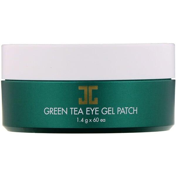 Гелевый патч для глаз с зеленым чаем, 60 патчей, 1,4 г каждый