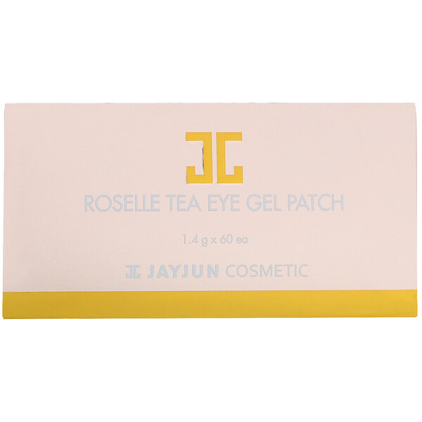 Jayjun Cosmetic, Roselle Tea Eye Gel Patch, 60 Patches, 1.4 g Each