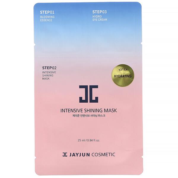 Jayjun Cosmetic, Трехфазная увлажняющая маска, комплект, 1шт.