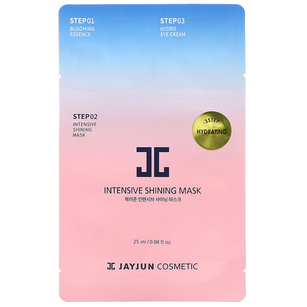 Jayjun Cosmetic, 3 Step Hydrating Mask, 1 Set