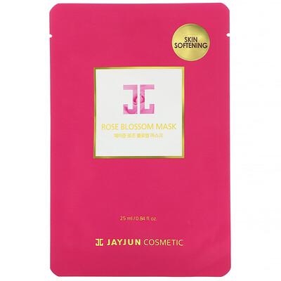 Купить Jayjun Cosmetic Rose Blossom Mask, 1 Sheet, 0.84 fl oz (25 ml)