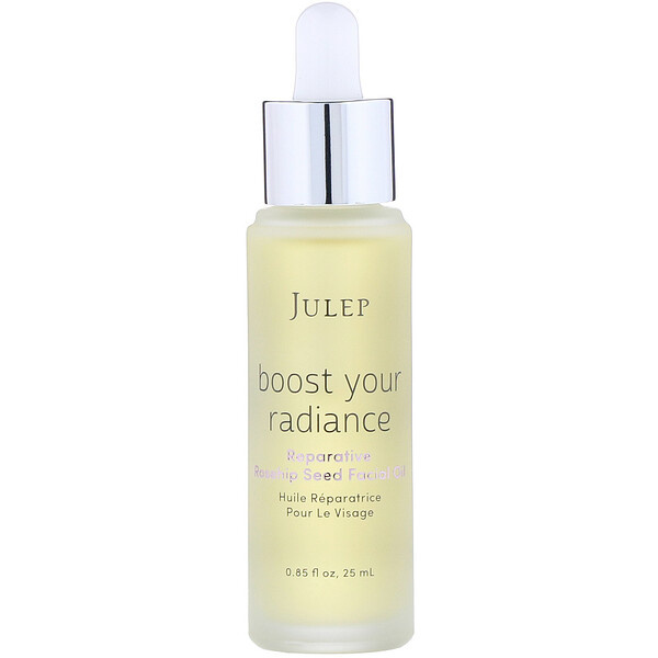 Julep, Boost Your Radiance, óleo facial reparador de rosa mosqueta, 25 ml