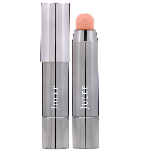 Julep, It's Balm, Full-Coverage Lip Crayon, Apricot Nude Creme, 0.07 oz (2 g) (Discontinued Item)