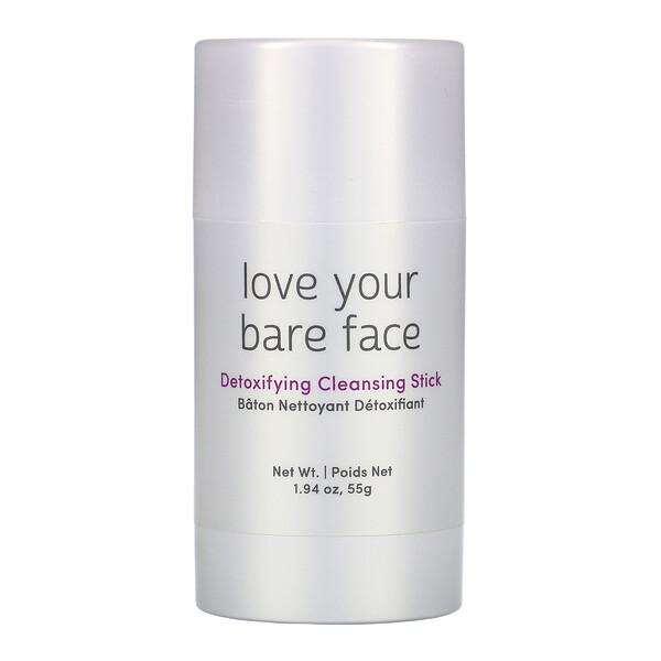 Love your Bare Face, Bastão de Limpeza Desintoxicante, 55 g
